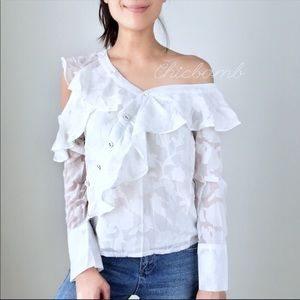 The COPPOLA reconstructed shirt top